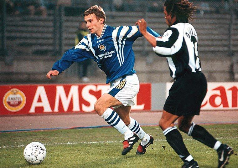 Andriy Shevchenko Edgar Davids Liga de Campeones