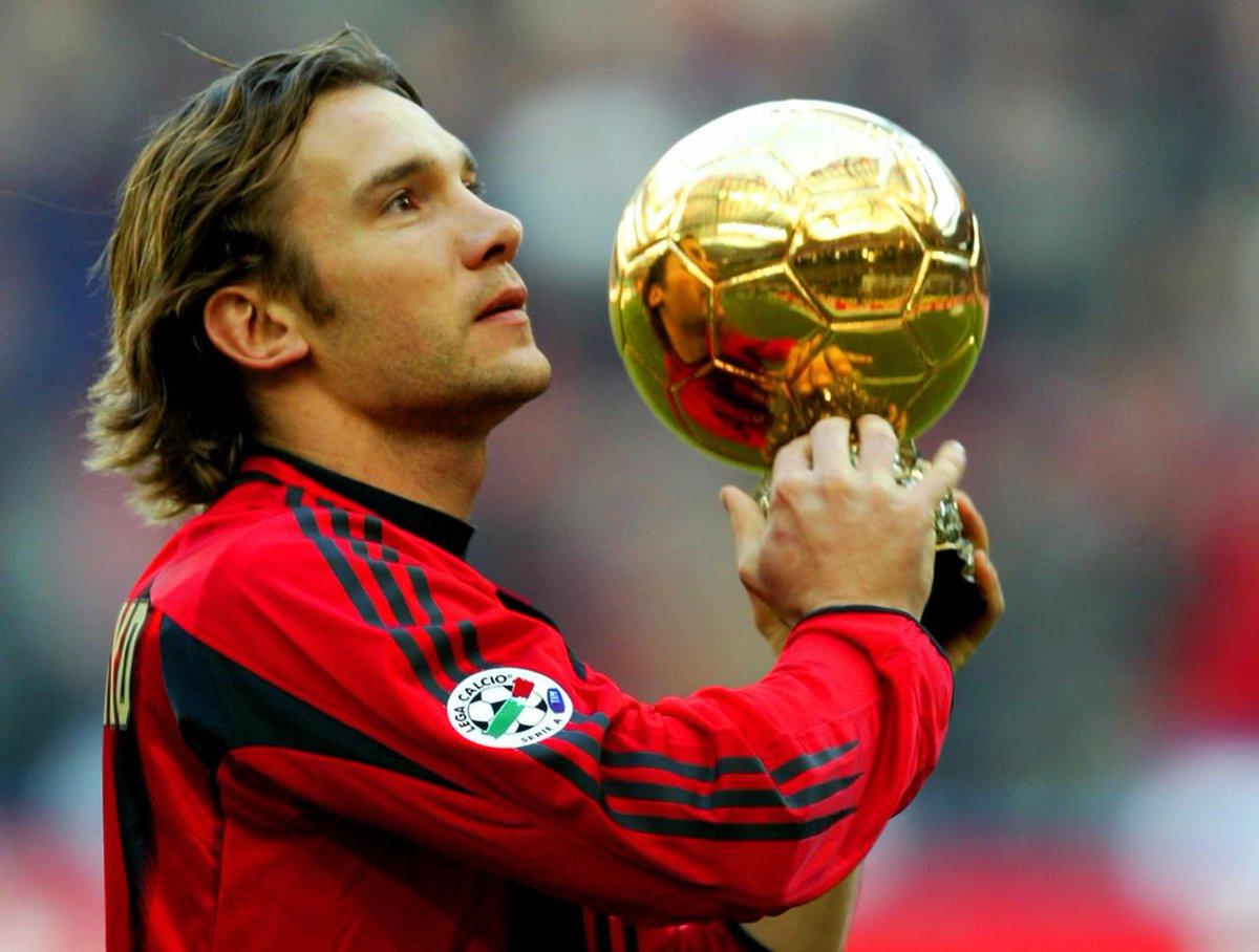 Shevcheno Balón de Oro AC Milan San Siro