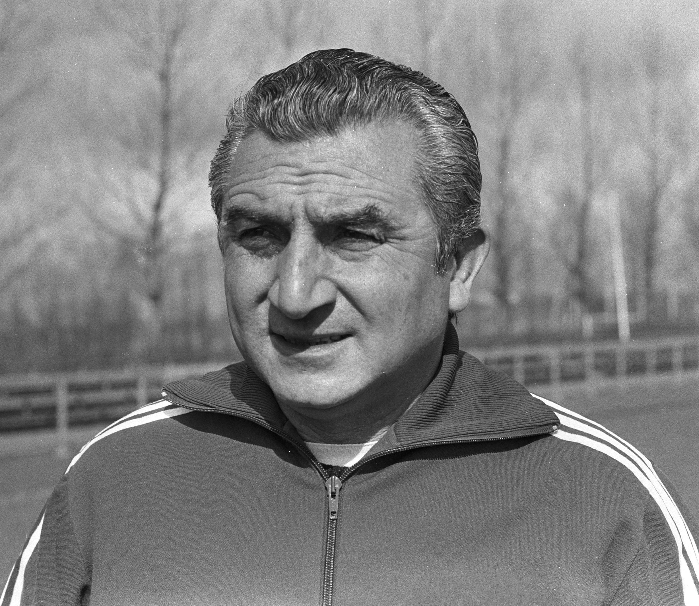 Miguel Muñoz entrenamiento Real Madrid