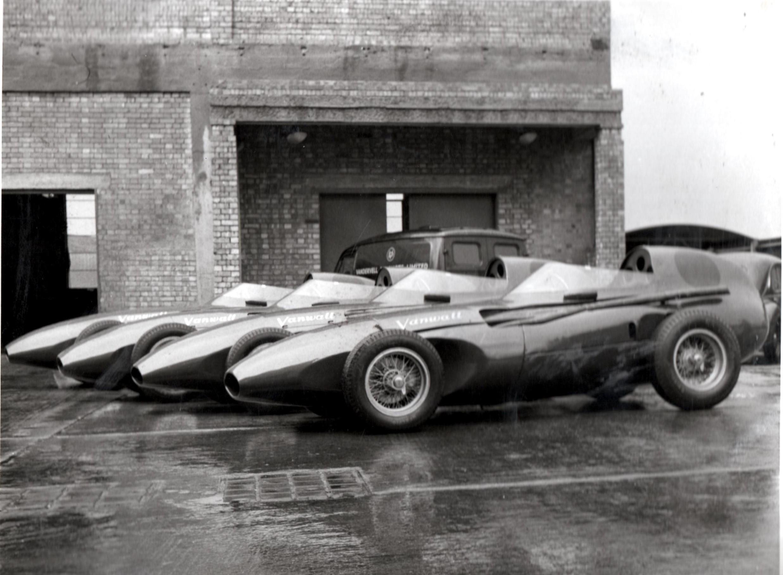 Automóviles Vanwall carroceria Abbey Panels 1957