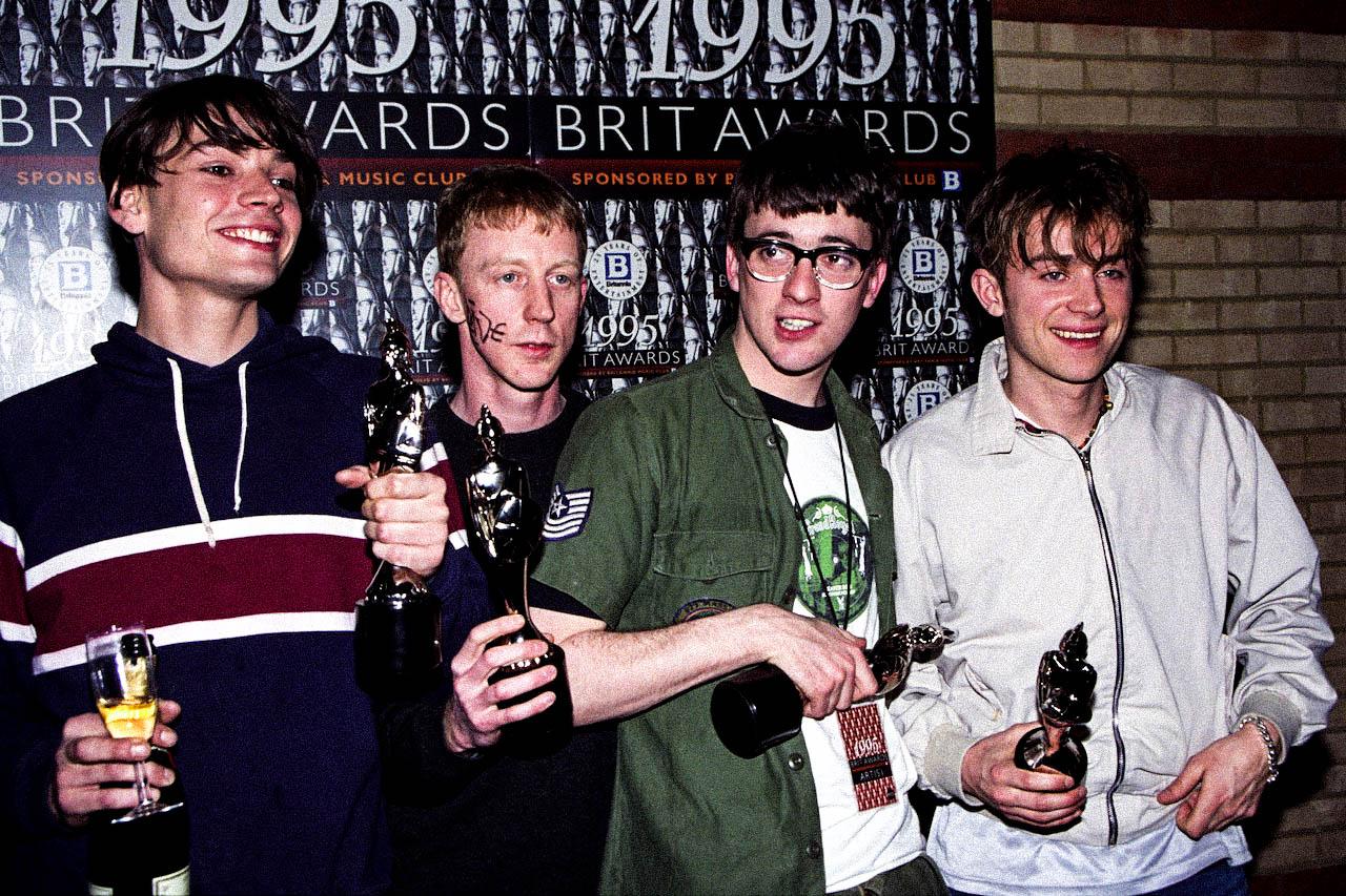 Blur Brit Award 1995