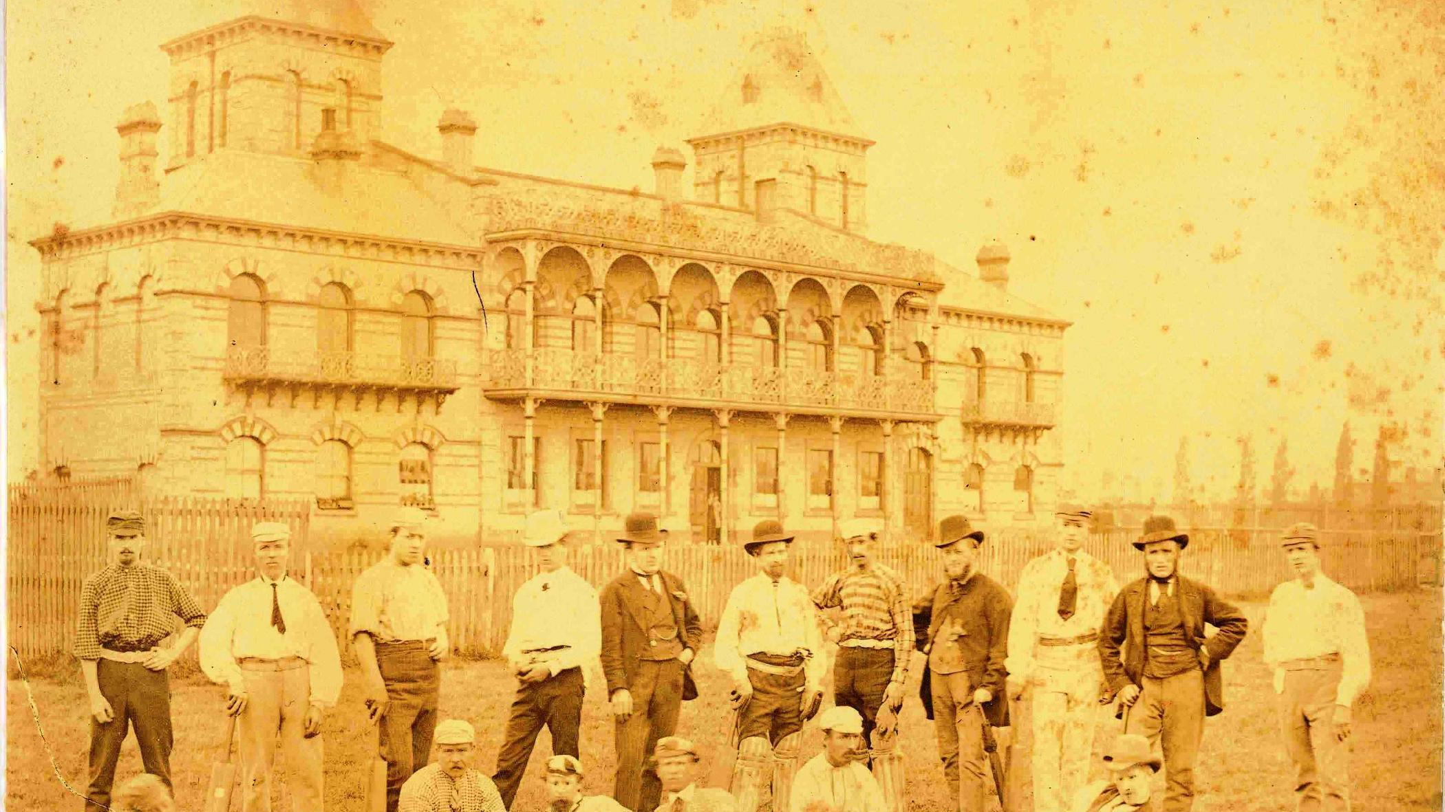 Victoria Park Pavilion Leicester 1887