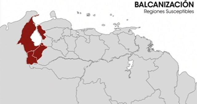 Balcanización Venezuela