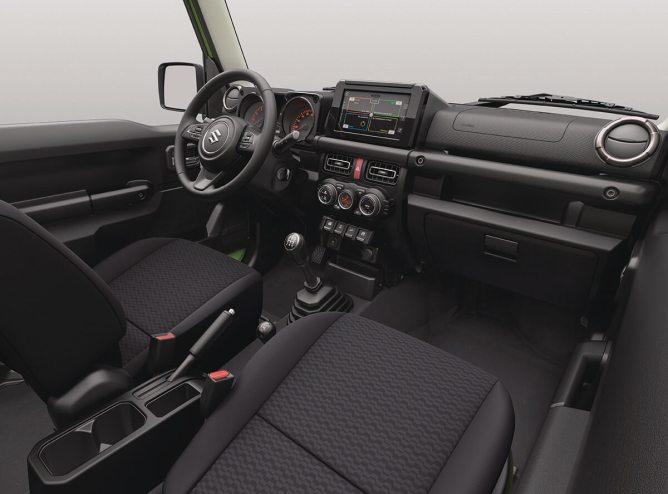 Novo Jimny interior