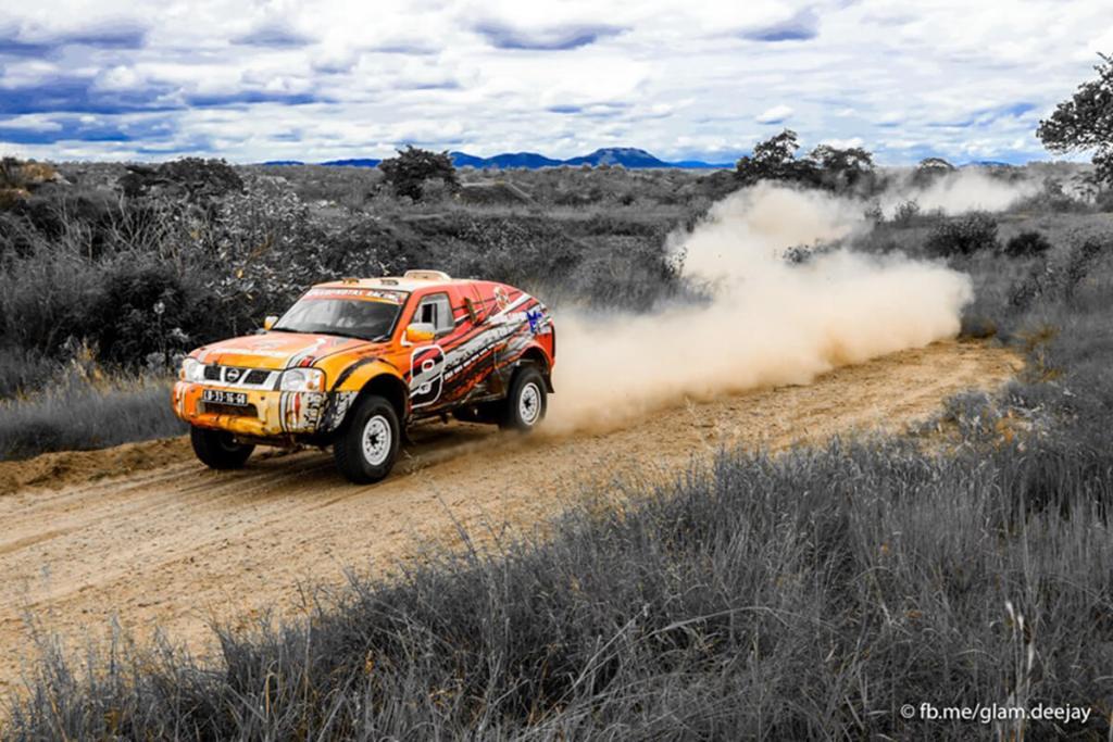 Muito embora a Nissan Pick-up já esteja ultrapassada, no Dande, Maló Almeida e João Paulo ofereceram forte oposição, terminando a pouco mais de um minuto dos vencedores...