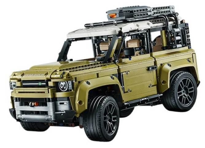 Kit Lego do novo Defender