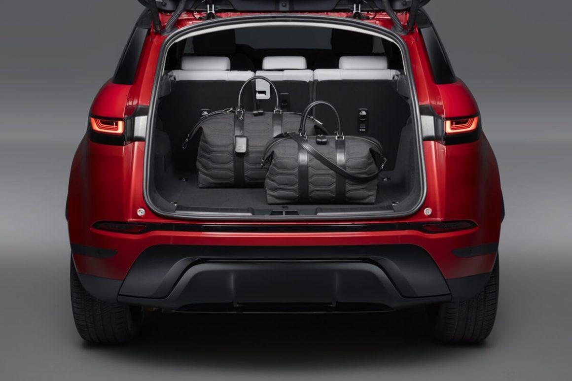 A bagageira do novo Range Rover Evoque