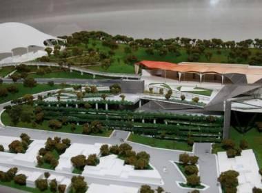 Maqueta del Centro de Convenciones para Oaxaca