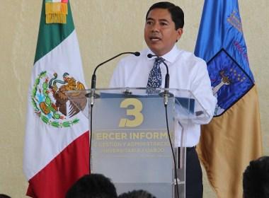 Eduardo Martínez Helmes, Tercer Informe