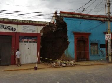Daños por terremoto en Oaxaca