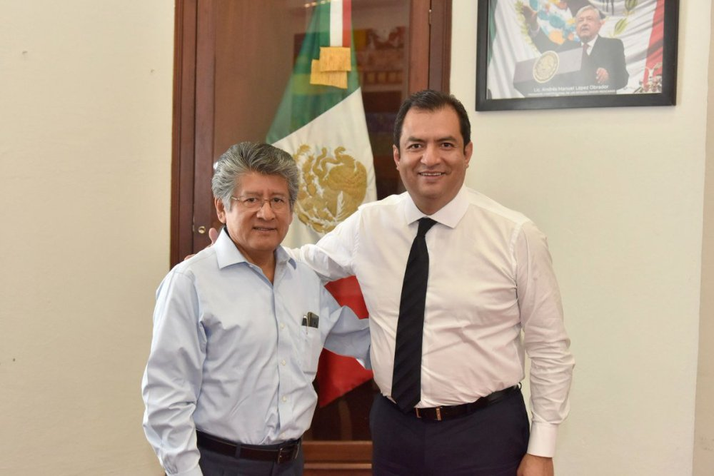 Francisco Martínez Neri y Oswaldo García Jarquín