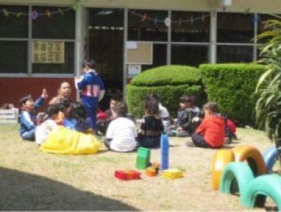 En el Jardín de Niños se aprende jugando
