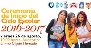 Ceremonia de Inicio del Ciclo Escolar 2016-2017