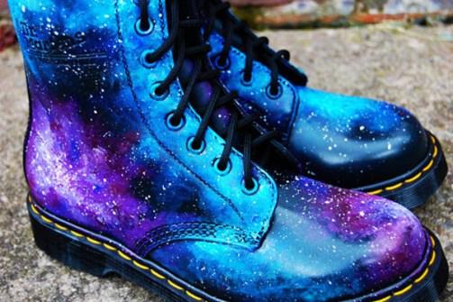 Dr Martin's Galaxy Print