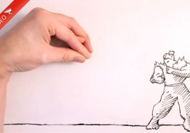 Espectacular pelea en Stop Motion.
