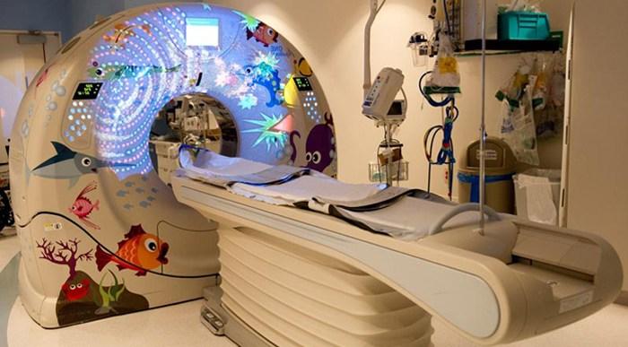 Hospitales para niños con una cara más alegre.