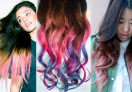 Mechas Californianas de Colores.