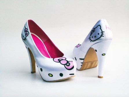 Tacones Hello Kitty