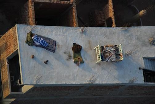 Azoteas en Egipto