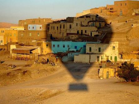 Egipto en globo