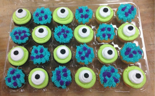 Cupcakes Monster University