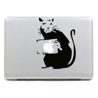 Personalizar Mac con vinilos Banksy
