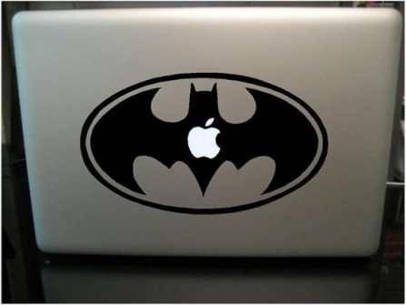 Personalizar Mac con vinilos Batman