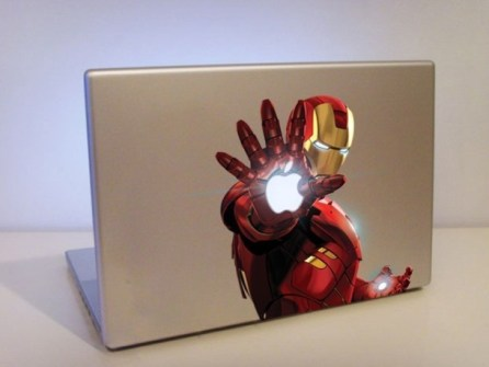 Personalizar Mac Iron Man