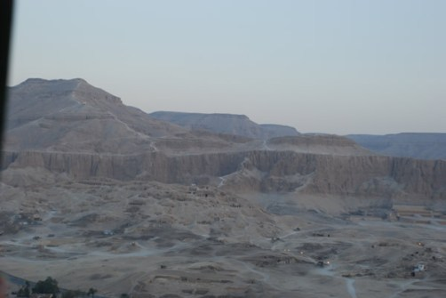 Sobrevolando Egipto
