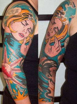 Tatuajes Pop Art