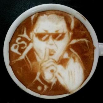 Coffee Art Psy