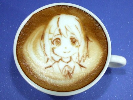 Coffee Art Manga