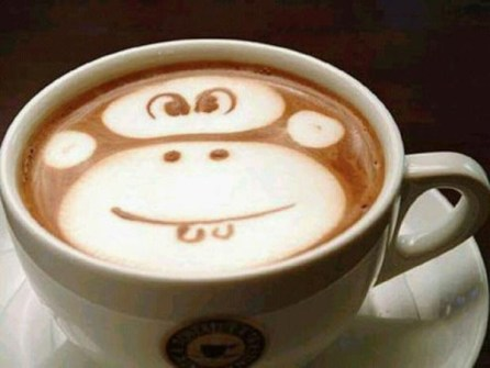 Coffee Art monito