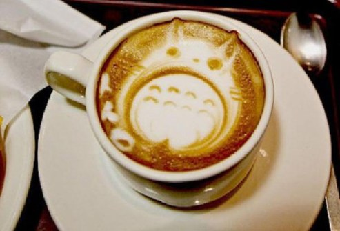 Coffee Art ánime