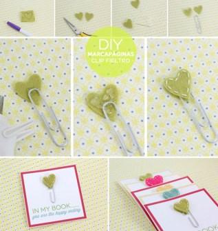 DIY - Clip de corazones