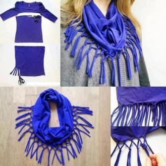 DIY - Un foulard único