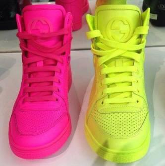Neón y colores flúor - Zapatillas neón
