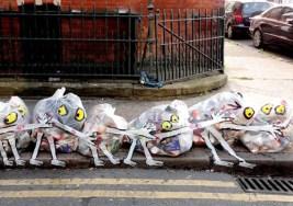 ¿Puede ser Arte unas bolsas de Basura?