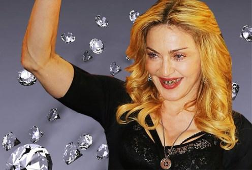 Bling Dental o Moda Grill - Madonna