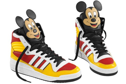 Jeremy Scott - Adidas Mickey Mouse