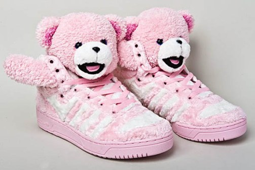 Jeremy Scott - Adidas Teddy rosa
