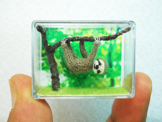 Miniaturas Amigurumi del colectivo de artesanos SuAmi
