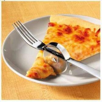 Tenerdor corta Pizza.