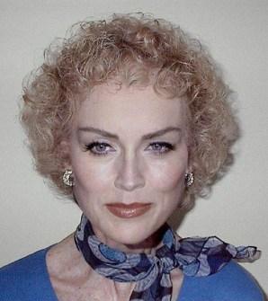 Así sería Sharon Stone si no fuera famosa