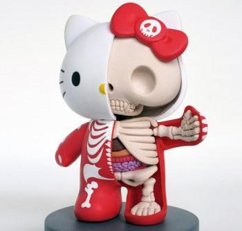Anatomía Hello Kitty