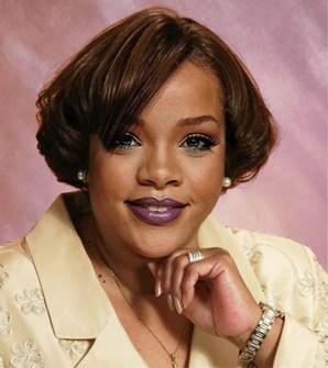 Así sería Rihanna sin tanto glamour