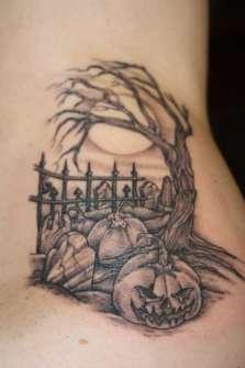 Tatuajes para Halloween