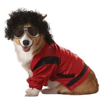 Disfraces para Mascotas en Halloween - Disfraz de Michael Jackson para perros