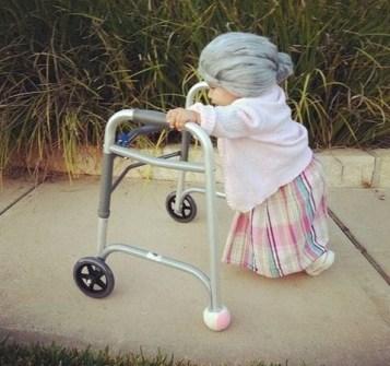 Disfraces infantiles originales - Disfraz de abuelita