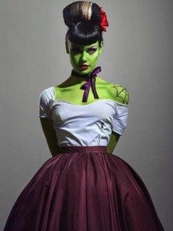 Disfraces originales y fáciles de última hora - Disfraz novia Frankenstein